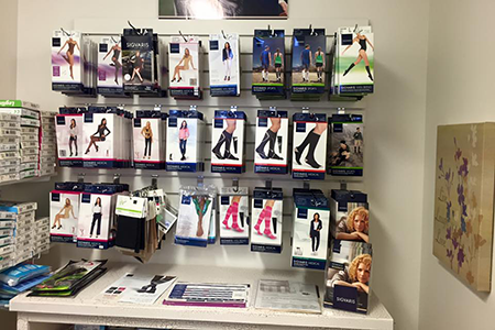 compression stockings & garments